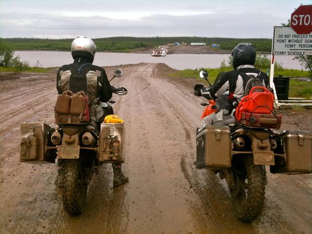 peel river ferry